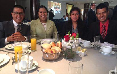 Desayuno con Director de JA Puebla y Club de Empresarios