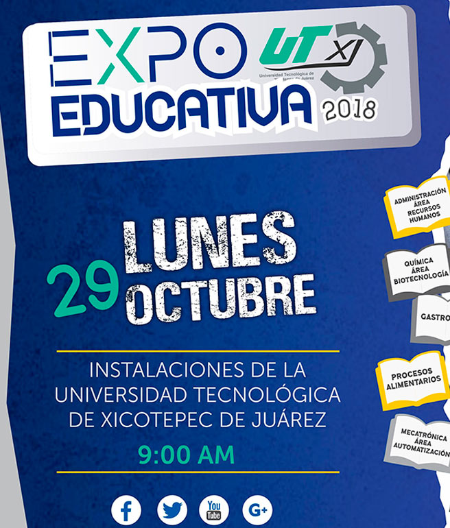 EXPO Educativa 2018 UTXJ