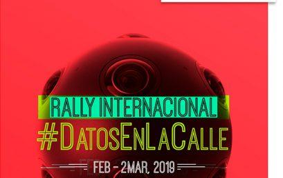 Rally Datos en la Calle: llevando los datos a las calles