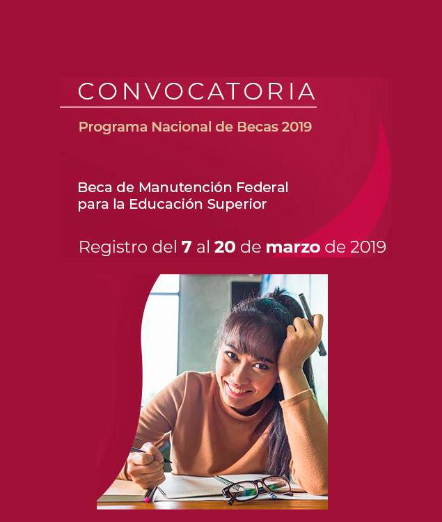 Convocatoria Beca Manutención Puebla 2019