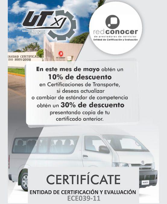 Entidad de Certificación y Evaluación ECE039-11