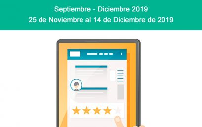 Evaluación a Docentes Septiembre – Diciembre 2019