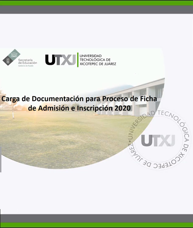 """Manual """"Carga documentación para proceso de ficha de Admisión e Inscripción 2020"""""""