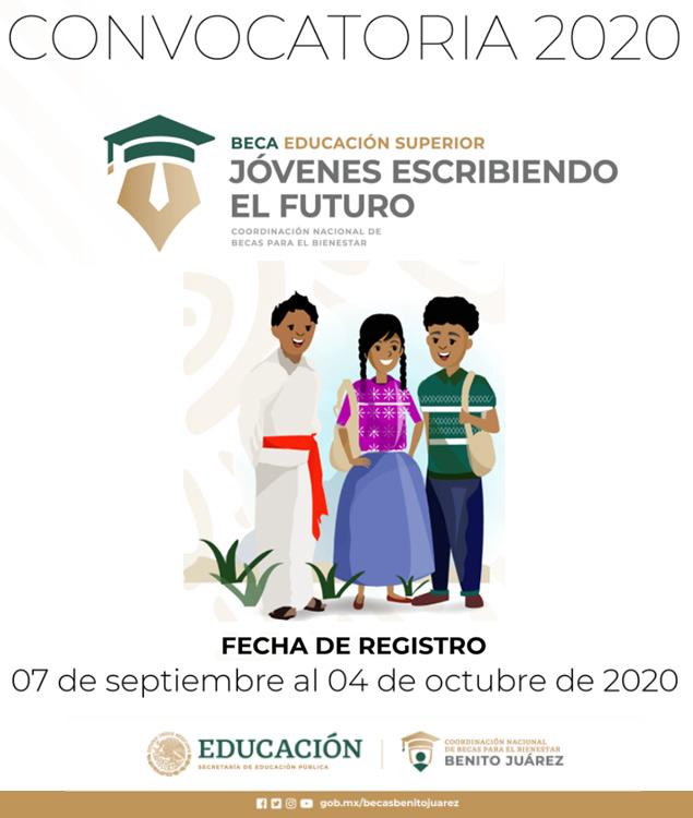 """Convocatoria Beca """"Jóvenes escribiendo el futuro"""""""