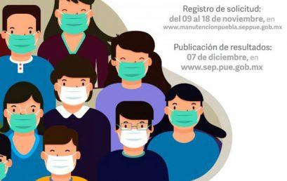 Resultados de Beca Manutención – COVID – 19 del Estado de Puebla 2020