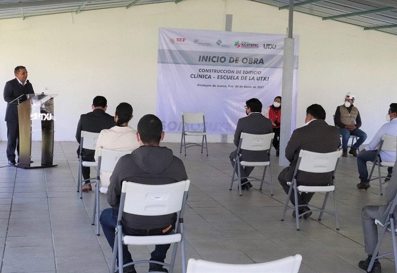Inicia construcción de Clínica-Escuela en Universidad Tecnológica de Xicotepec