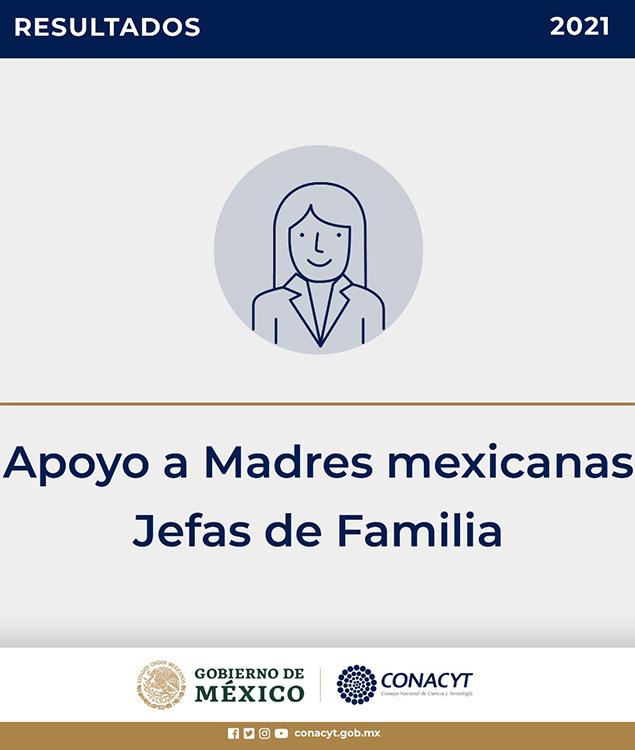 Resultados Beca Apoyo a Madres Mexicanas Jefas de Familia para Fortalecer su Desarrollo Profesional