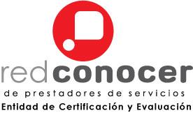 Logo de Red CONOCER de Prestadores de Servicios. Entidad de Certificación y Evaluación