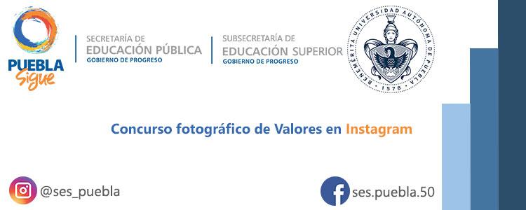 Concurso fotográfico de Valores en Instagram
