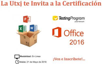 Acreditación Testing Program