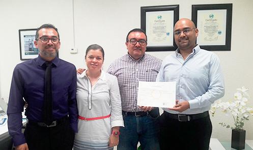 Primer Titulo de Licencia Profesional MEXPROTEC