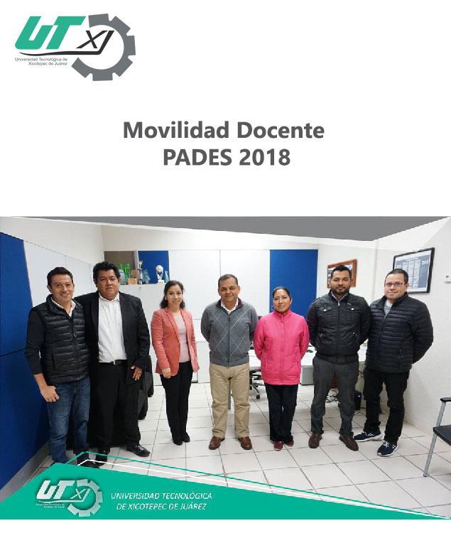 Movilidad docente PADES 2018
