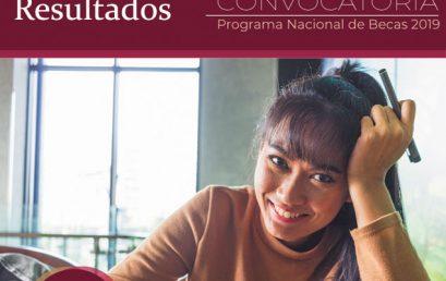 """Resultados de la Beca """"Manutención Federal para la Educación Superior 2019-II"""""""