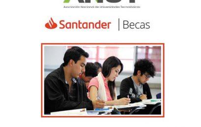 """Convocatoria """"Programa de Becas Santander – ANUT"""""""