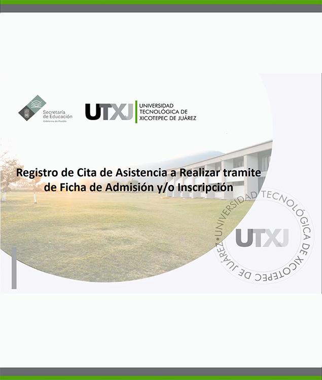 "Manual ""Registro de citas para Admisión e Inscripción 2020"""